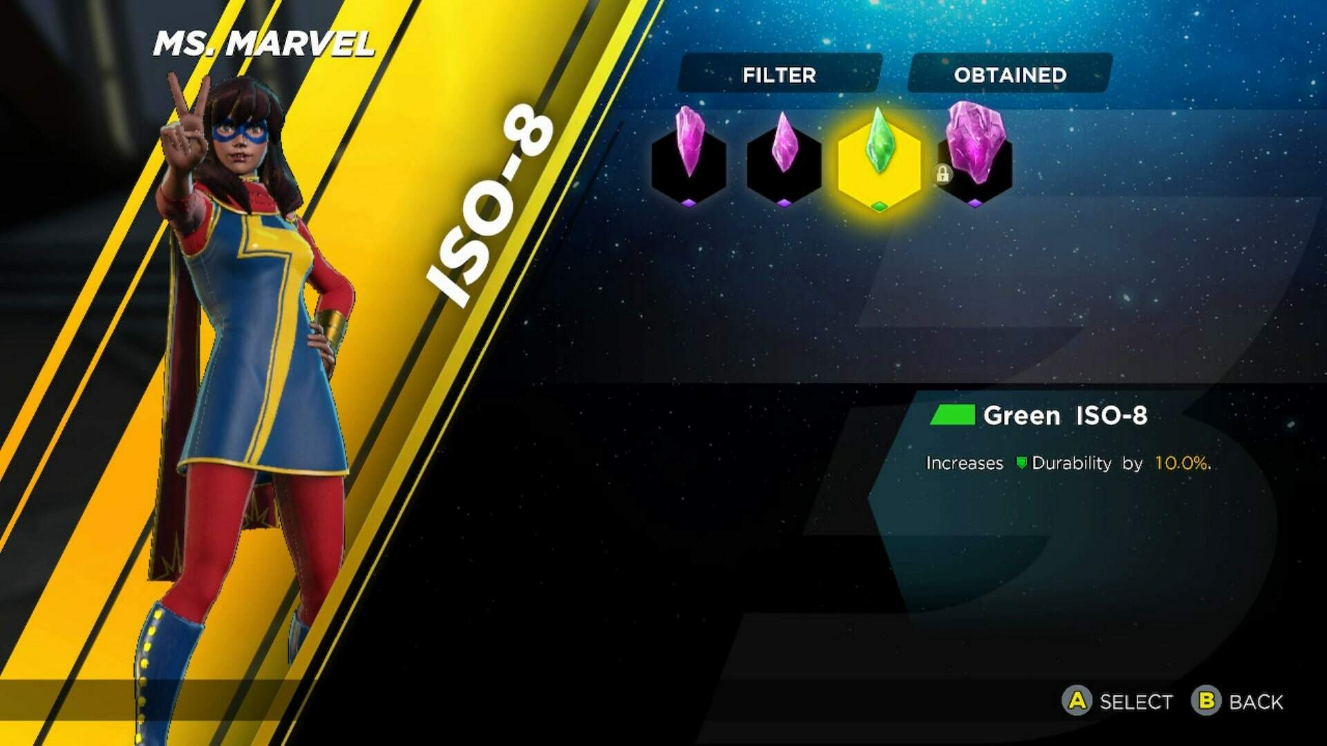Marvel Ultimate Alliance 3 ISO-8: Upgrading, Equipping and Earning ISO-8