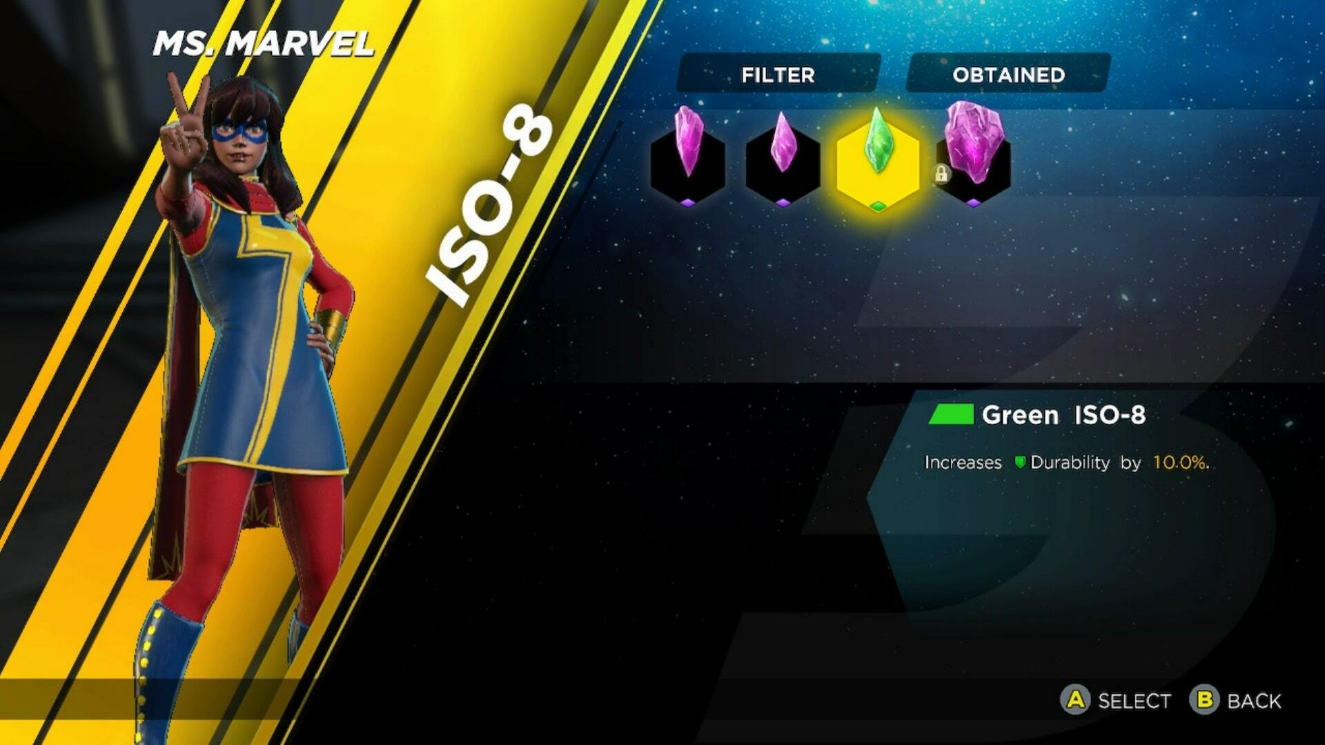 Marvel Ultimate Alliance 3 ISO-8: Upgrading, Equipping and
