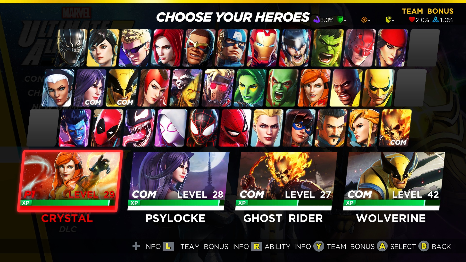 Marvel Ultimate Alliance 3 Costumes: How to Unlock and
