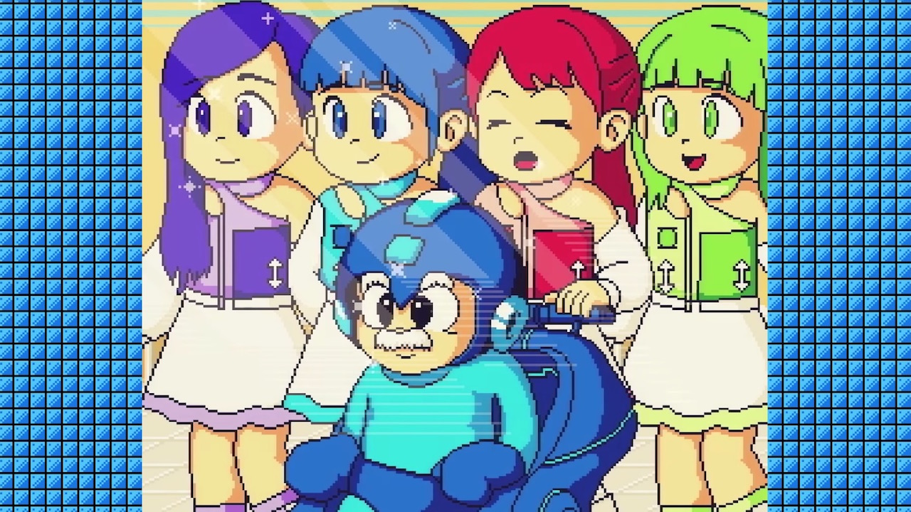 Mega Man's New Mobile Game is a Partnership with a Pop Band