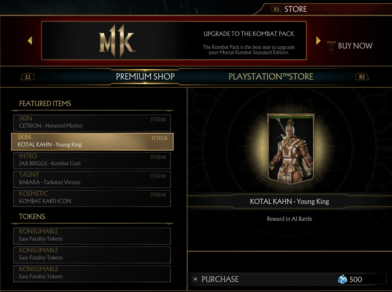 What You Need to Know About Mortal Kombat 11's Premium Shop