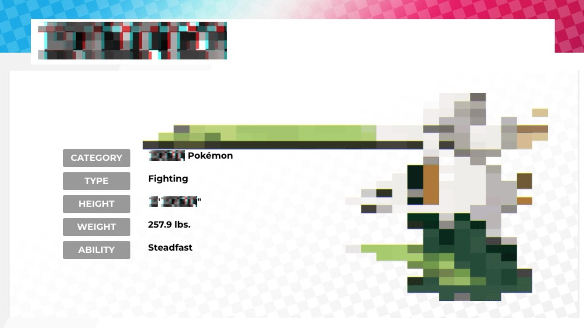 Creepy New Pokemon Tease for Sword and Shield Feels Reminiscent of MissingNo.