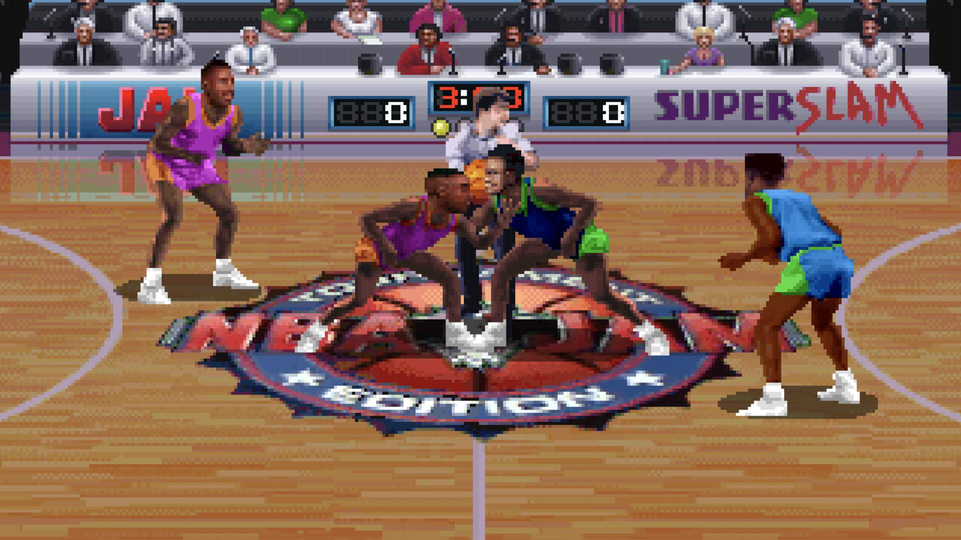 Remember When... NBA Jam Played Favorites in the Bulls vs. Pistons Rivalry?