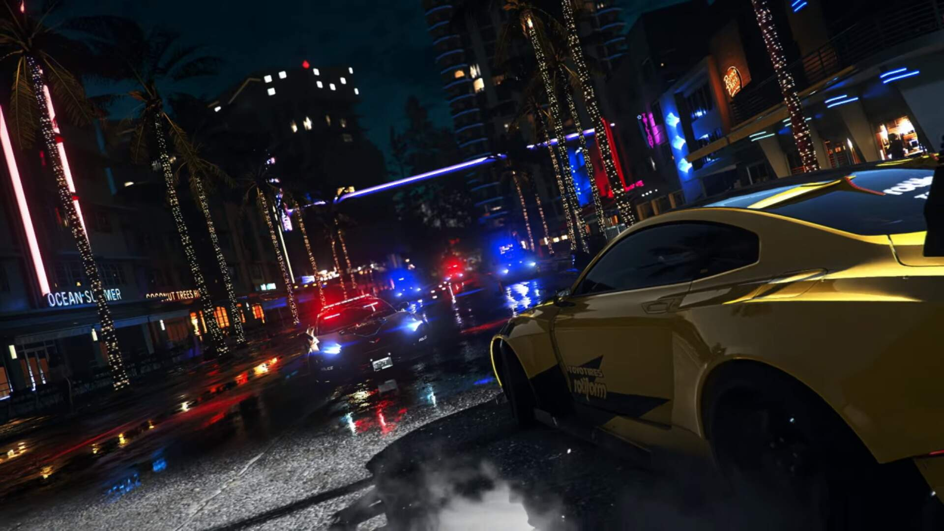 Need For Speed Heat Trailer Features Angry Cops and Fast Cars