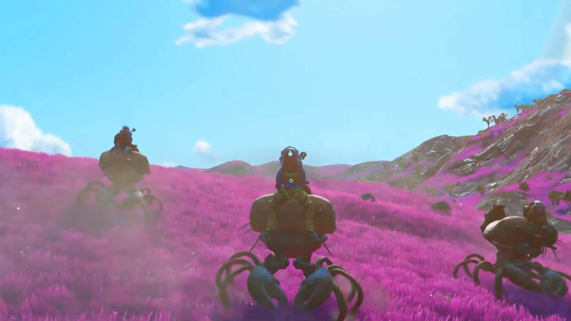 How to Ride Animals in No Man's Sky