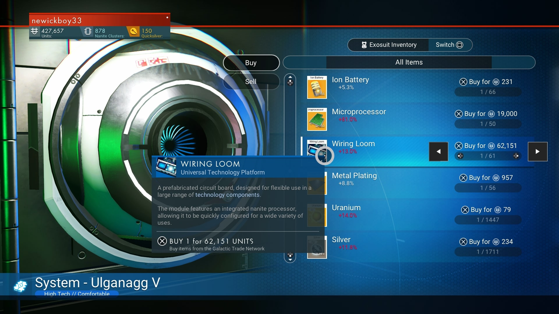 No Man S Sky Wiring Loom Is There A Blueprint Usgamer