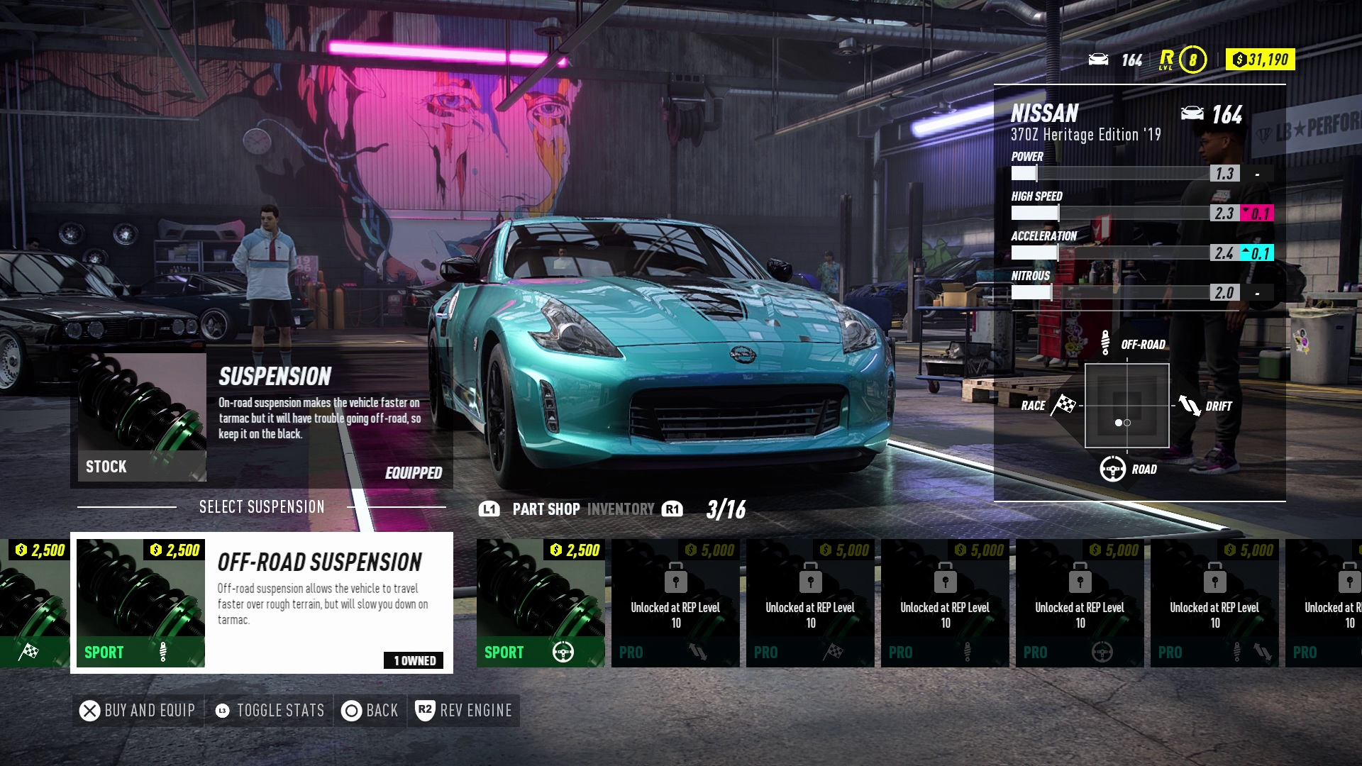 Personalizacion de tus vehiculos en Need For Speed - Heat