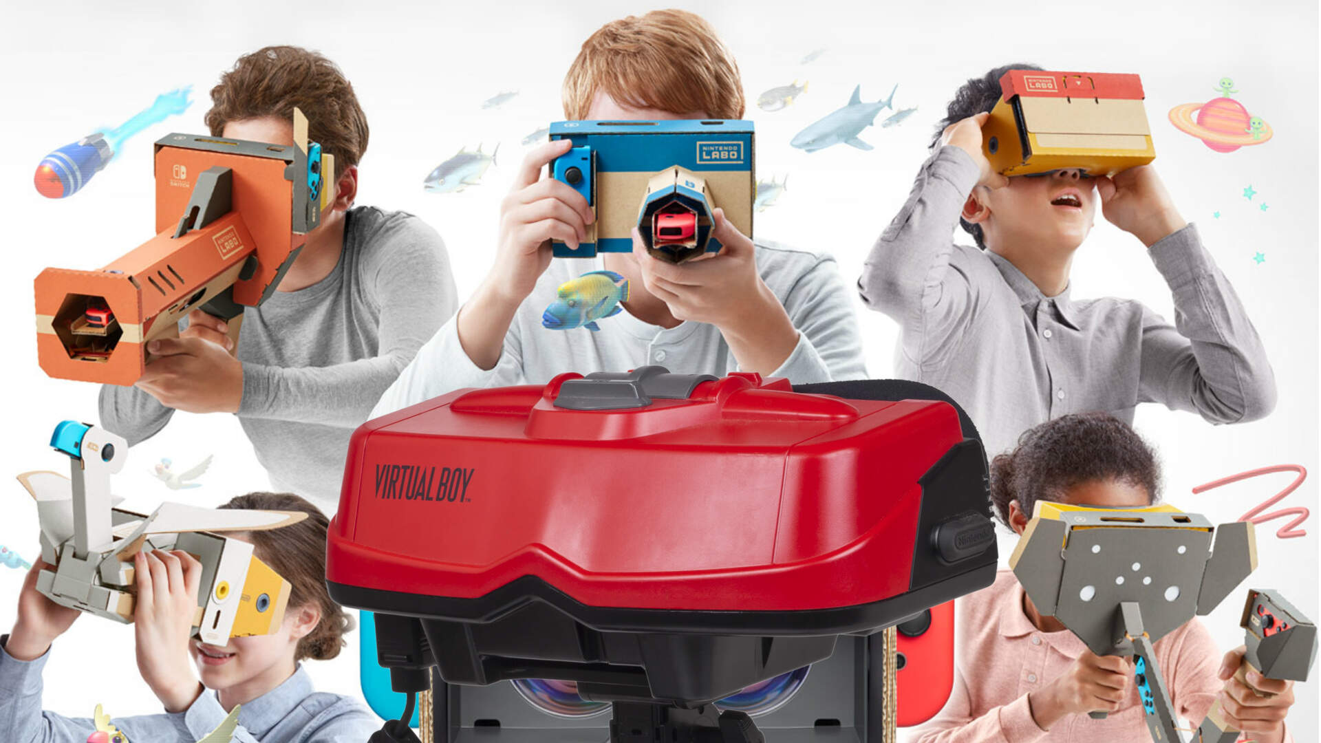 Virtual Boy Easter Egg Hiding in Nintendo Labo VR Kit