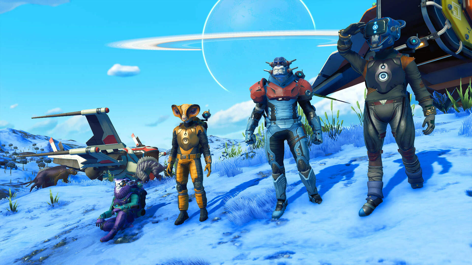 Weird Fleshy Ships Have Been Added to No Man's Sky