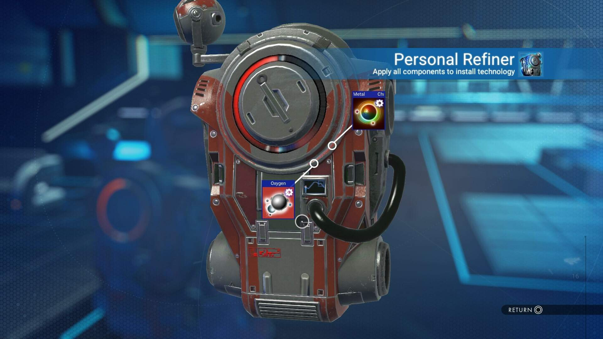 How to Get the Personal Refiner in No Man's Sky