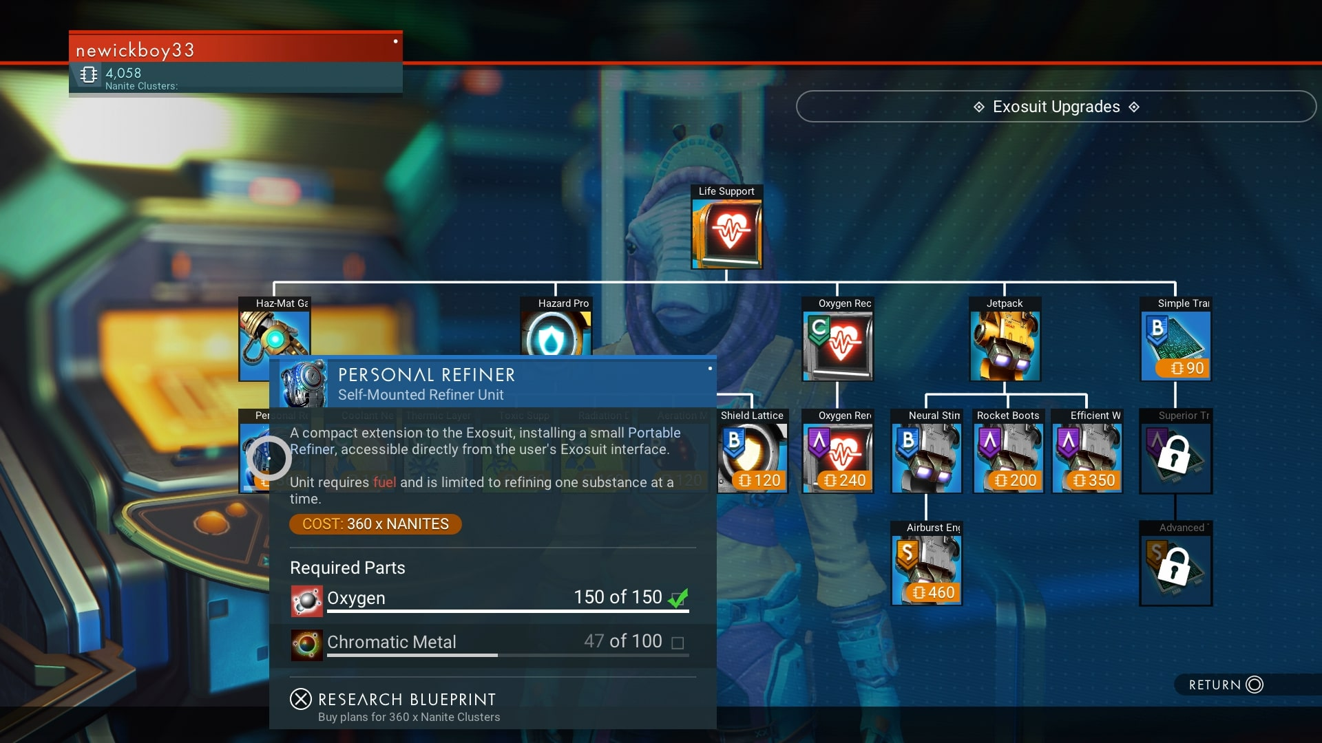 No Mans Sky Review 2020.How To Get The Personal Refiner In No Man S Sky Usgamer