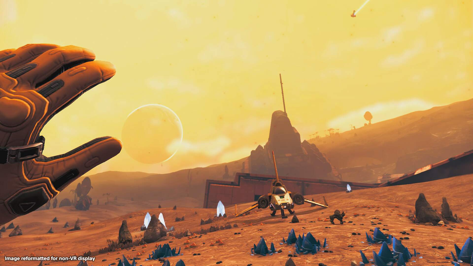 In No Man's Sky VR, No One Can Hear You Puke From Spinning Your Ship Out on Accident
