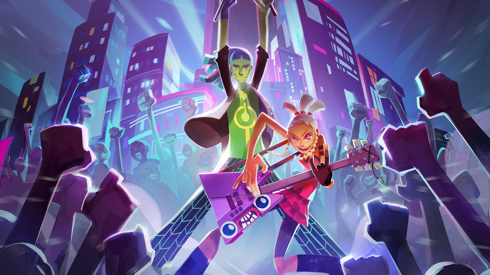 No Straight Roads is a Musical Action-Adventure Where You Don't Necessarily Need Good Rhythm