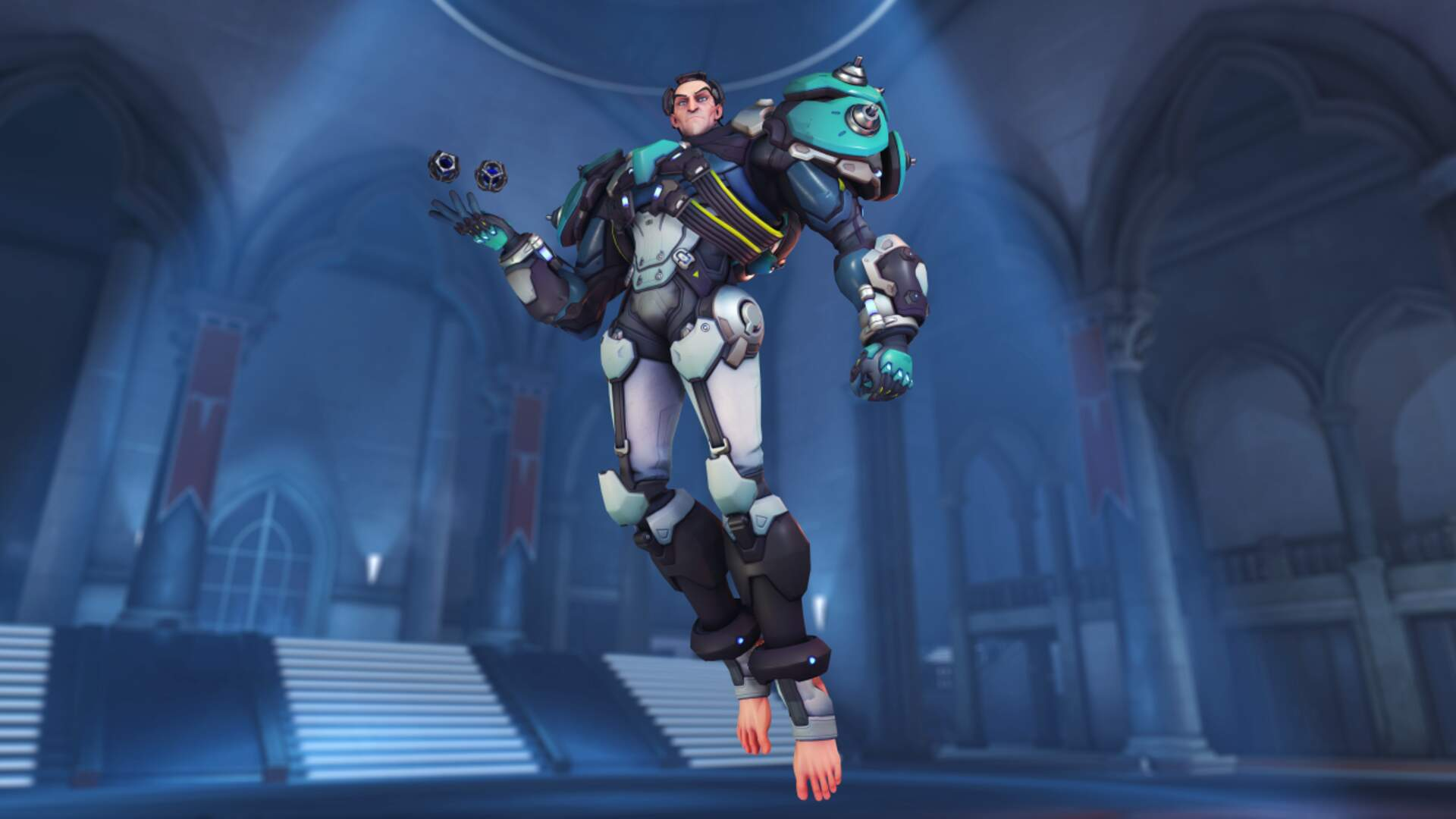 Overwatch's New Hero Sigma Can Bend Gravity, And His Toes