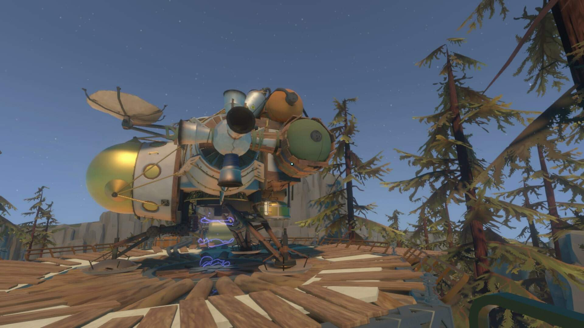Outer Wilds Observatory Walkthrough - How to Get to the Brittle Hollow Observatory