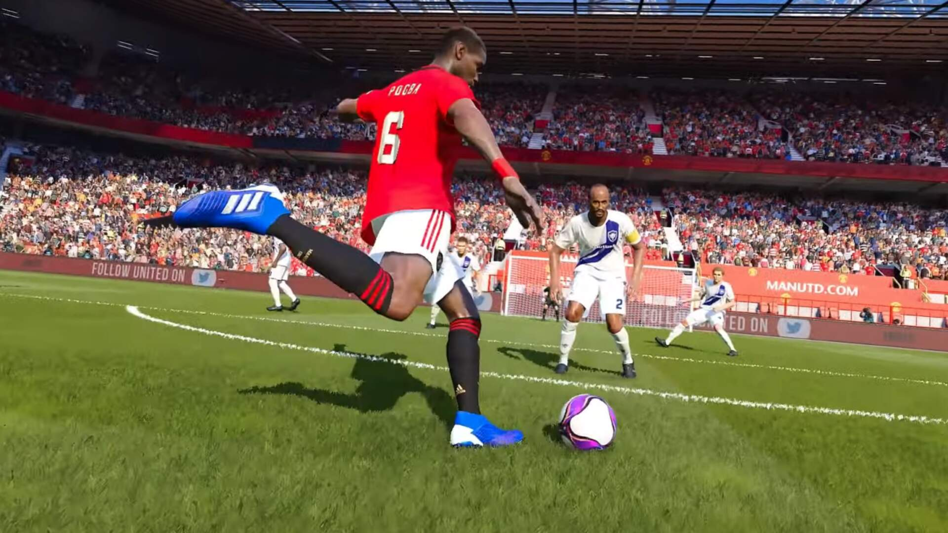 PES 2020 Signs On Manchester United