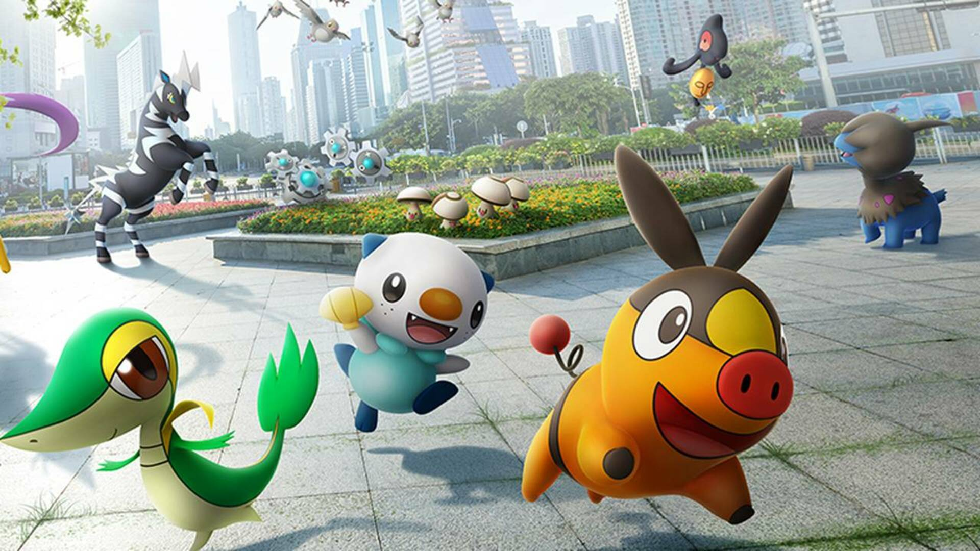 Pokemon Go Gets Its First Batch Of Pokemon From Gen 5 Today