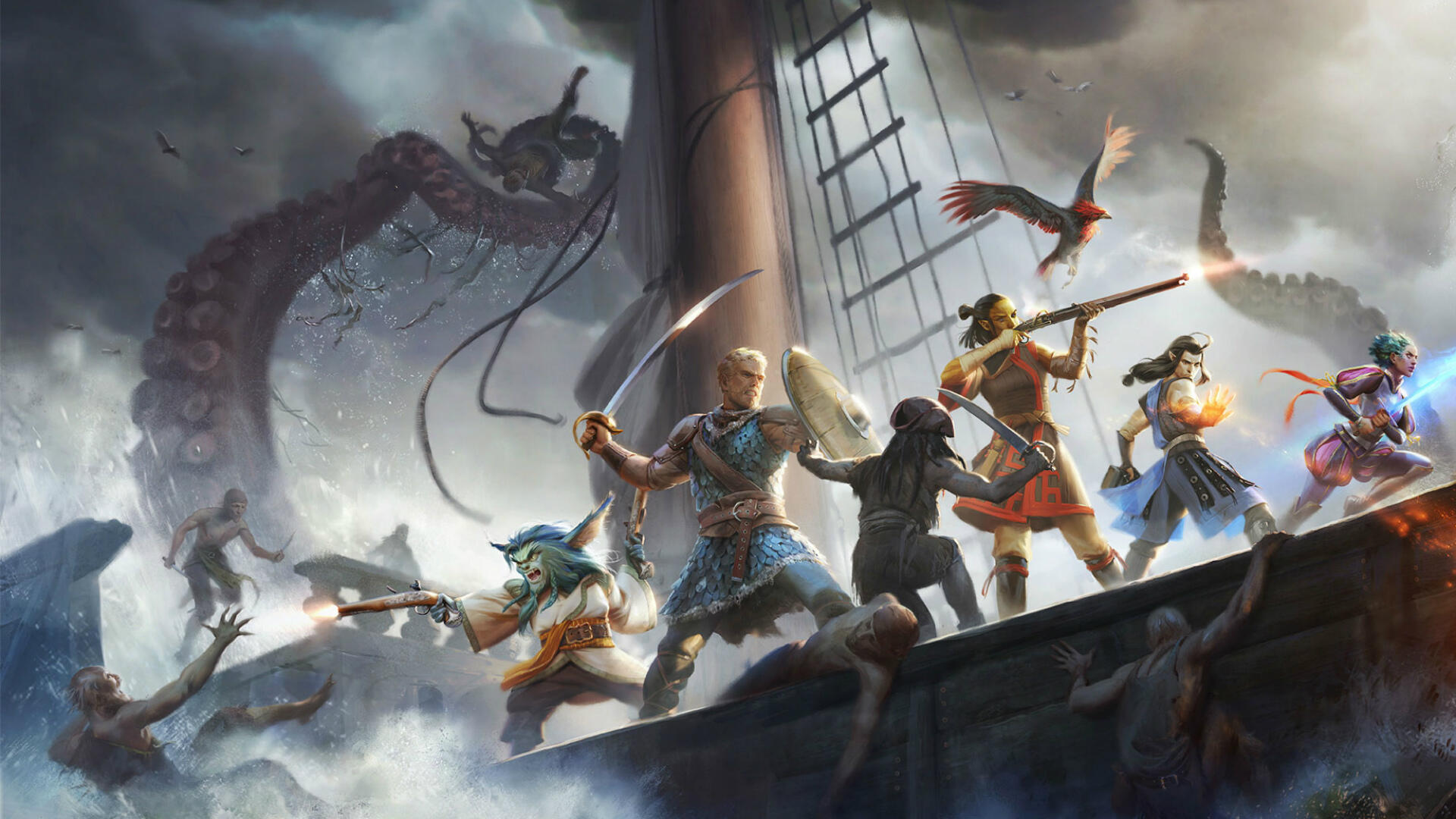Pillars of Eternity 2 Adds Turn-Based Combat Option in New Update