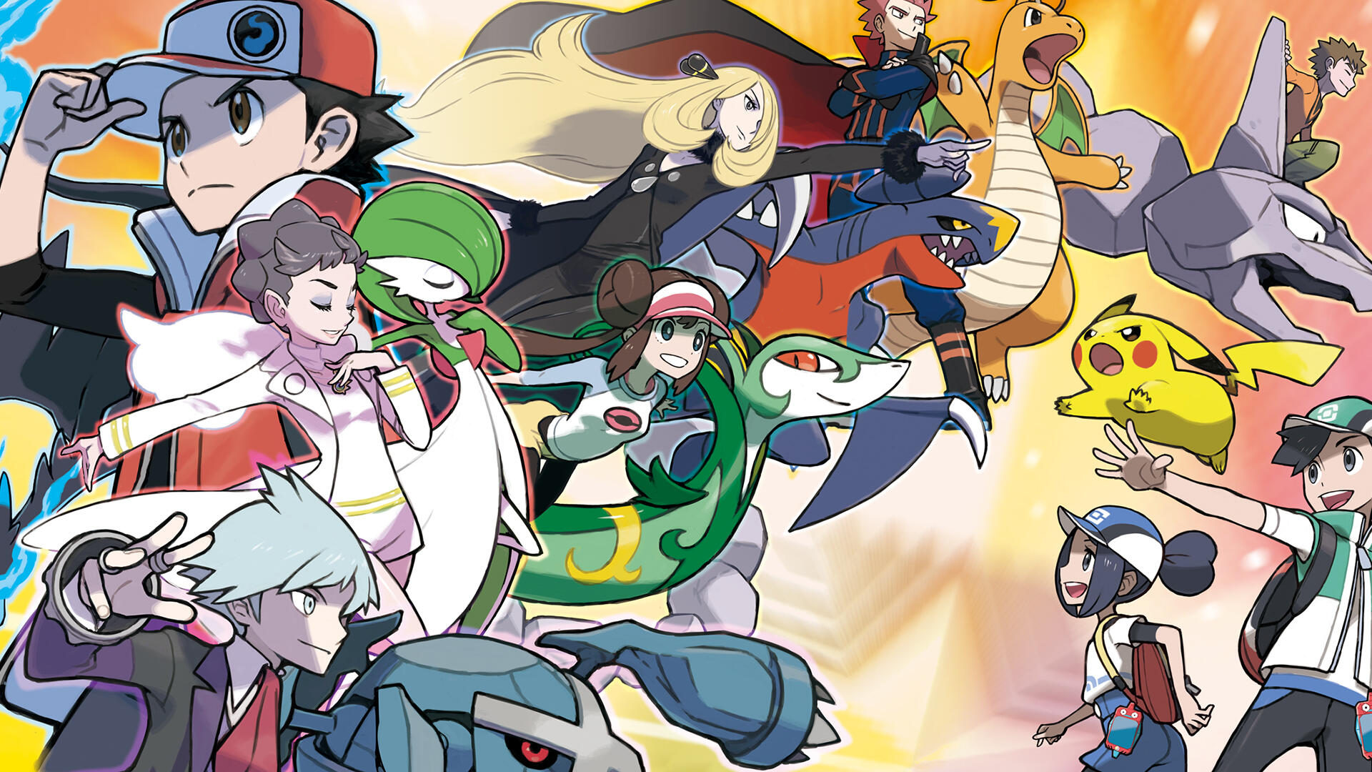 Pokemon Masters Won't Include Sword and Shield Trainers, At Least At Launch