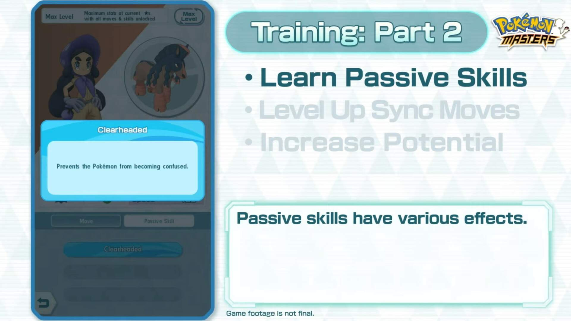 Pokemon Masters Passive Skills - How to Unlock Passive Skills