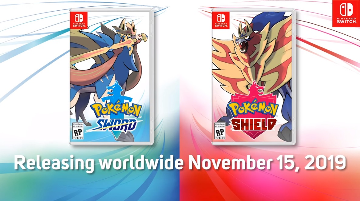 Pokemon Sword and Shield Release Date and Legendaries