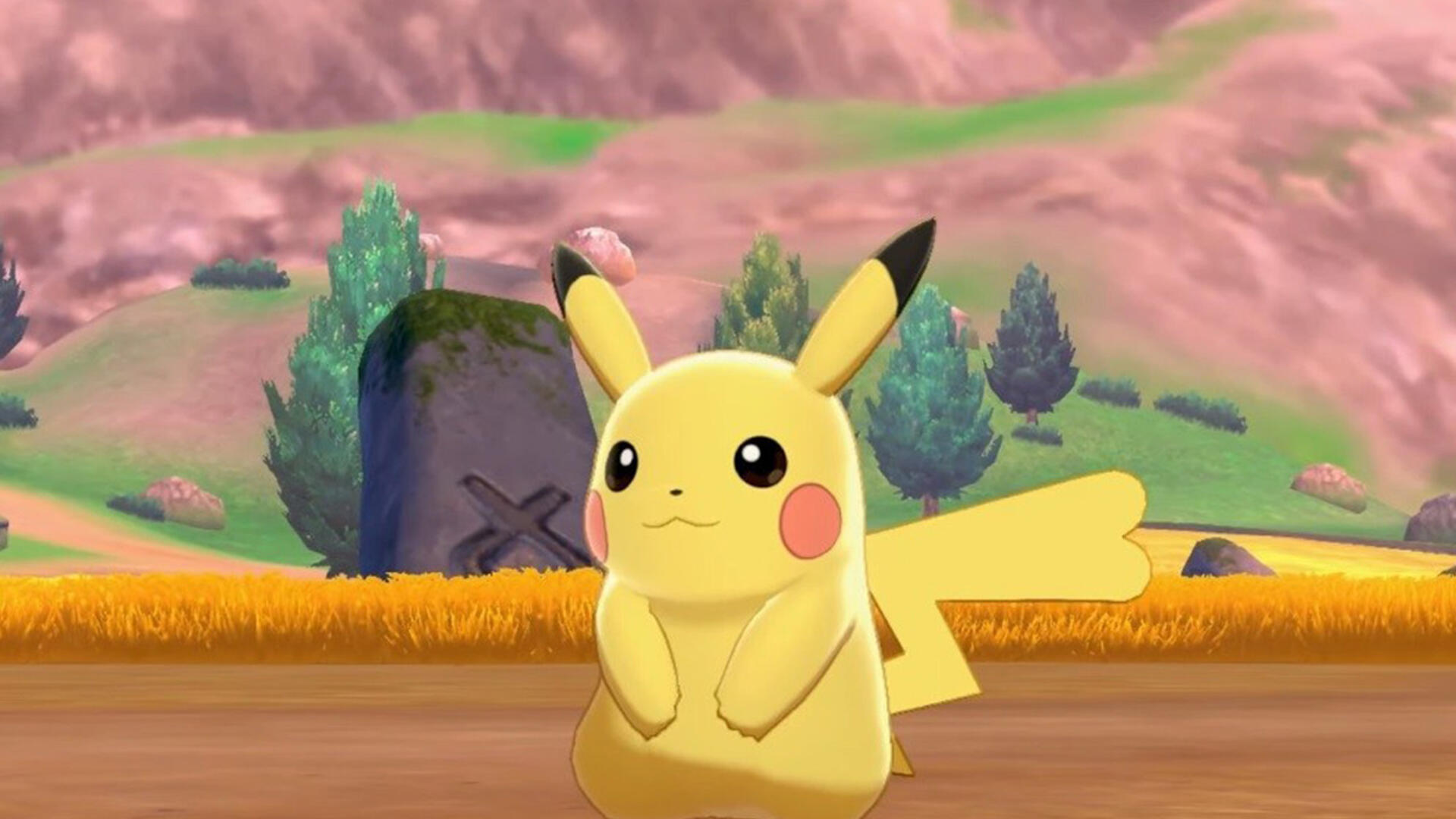 Pokemon Sword and Shield Gives You a Close-up of a Pikachu Squirming Against its Inevitable End