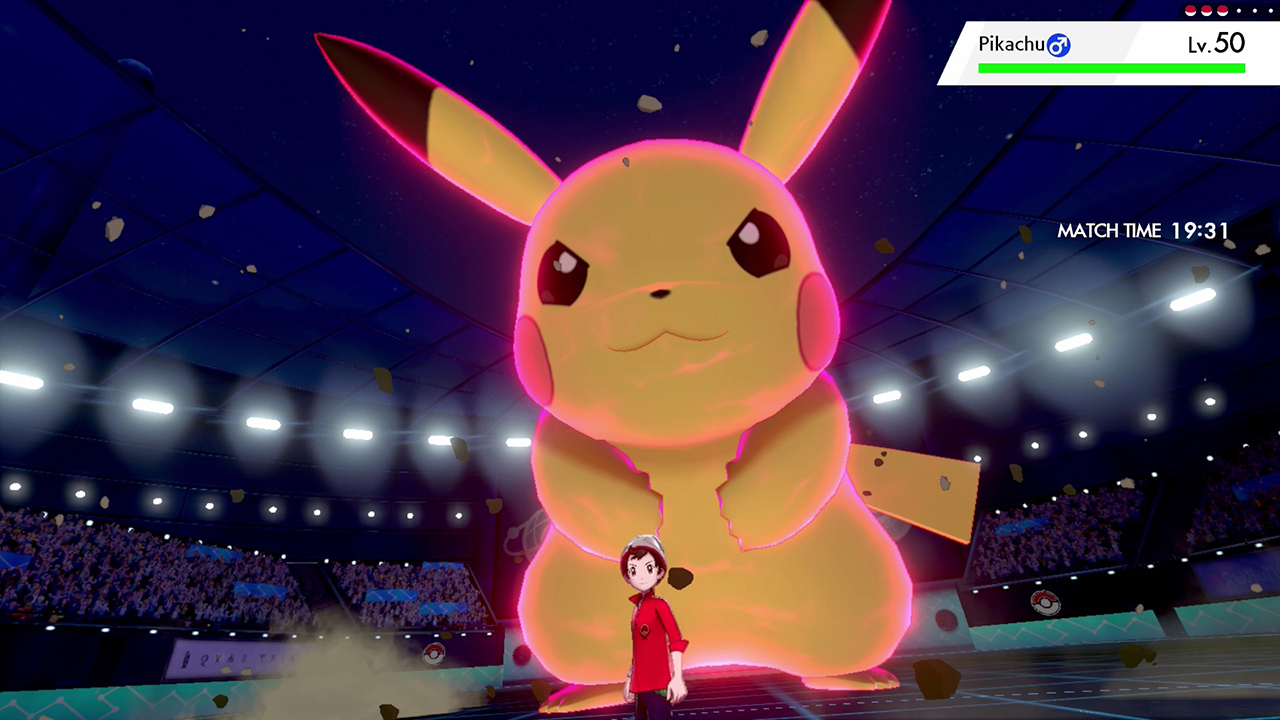 Pokemon Sword And Shield S Dynamax Adds Dramatic Flair To Gym