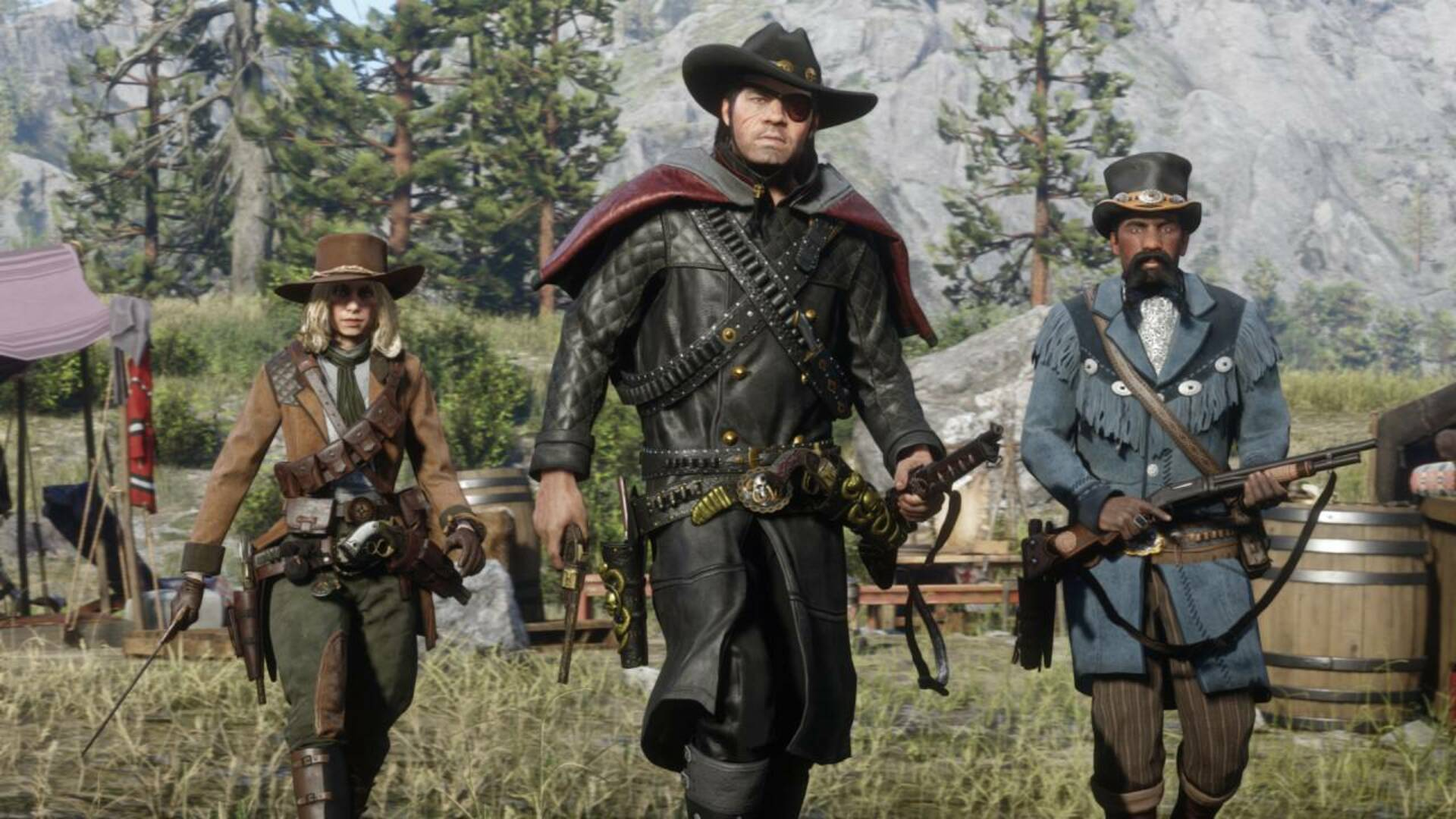 Red Dead Online is Getting Professional Bounty Hunting, Trading, and Treasure Hunting Next Week