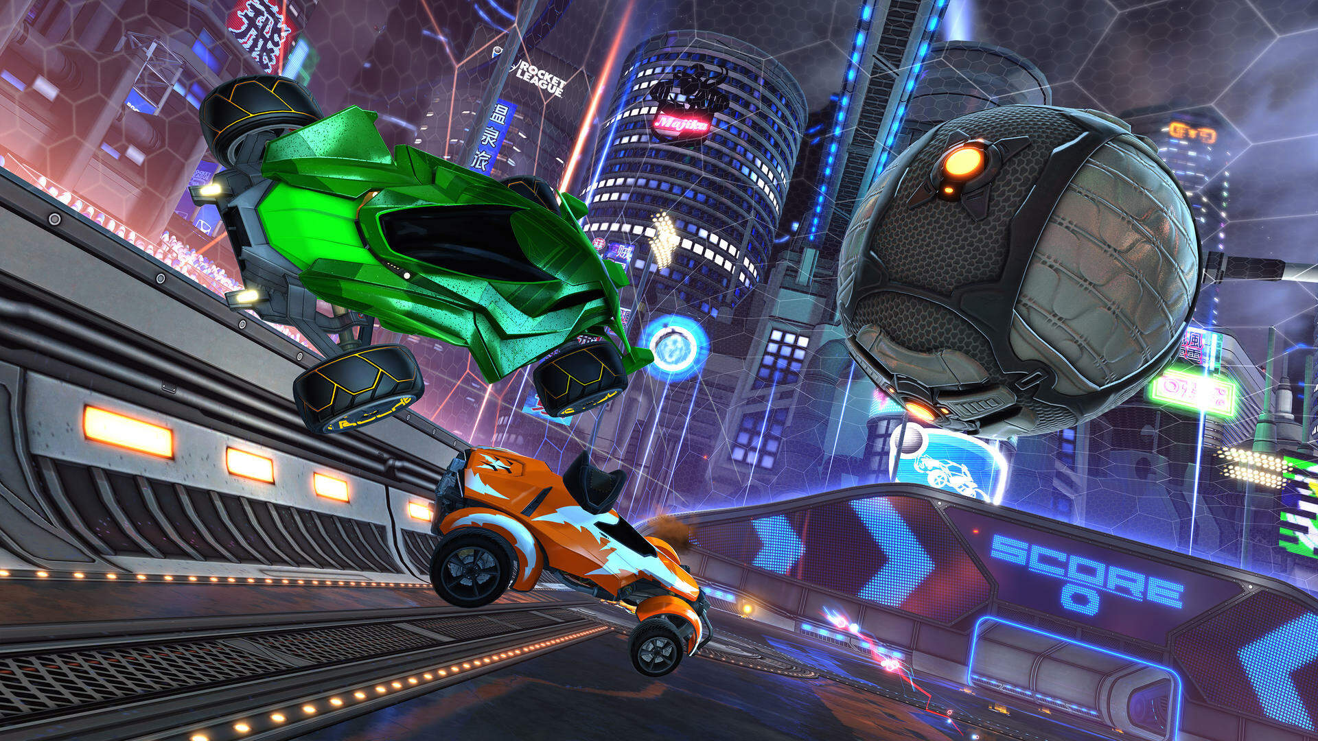 Rocket League Won't Need Switch Online or PlayStation Plus Once It's Free-to-Play