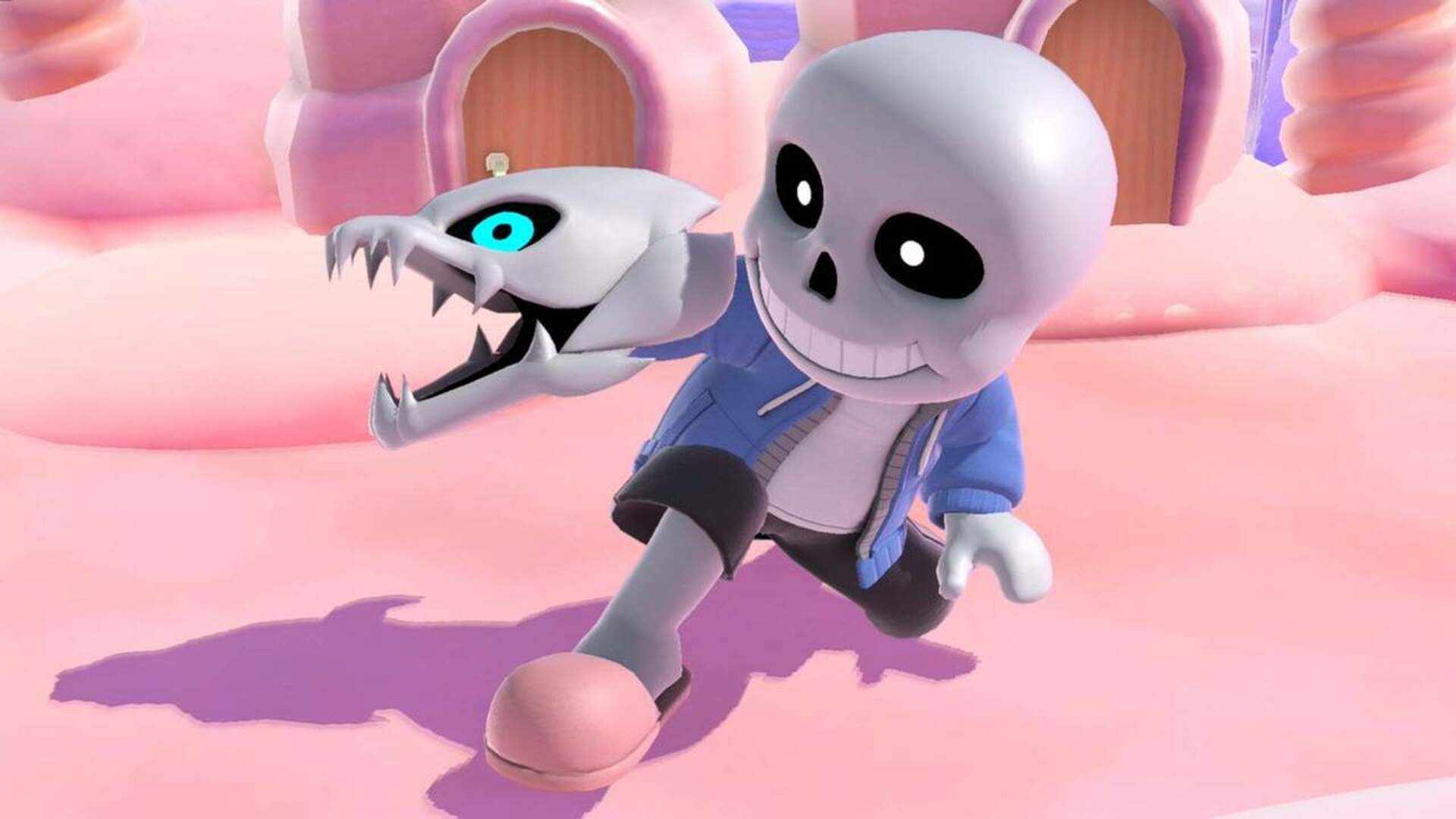 Undertale's Toby Fox Wasn't a Fan of Sans' Tiny Fingers in Super Smash Bros. Ultimate