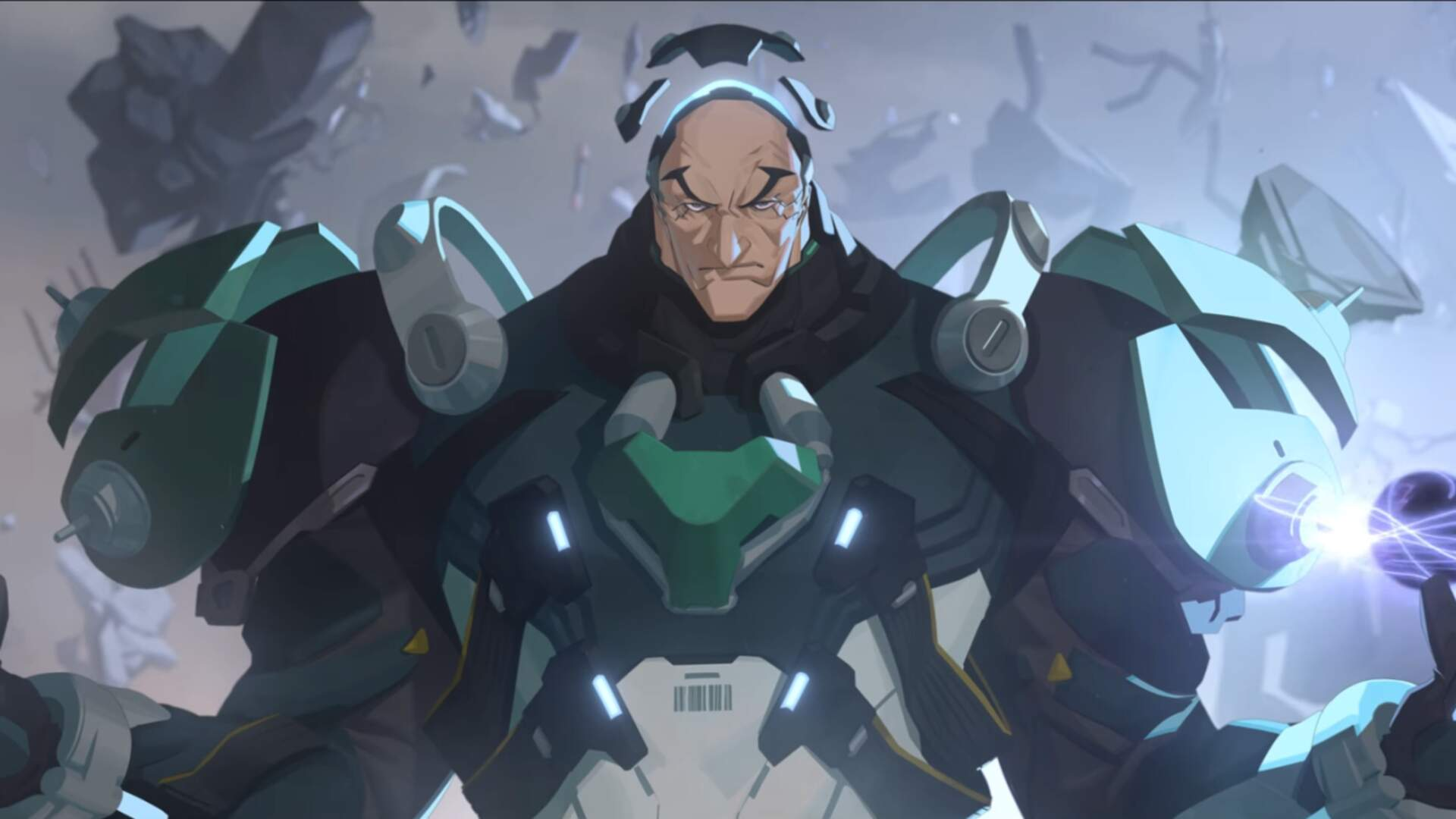 Sigma, Overwatch's Newest Hero, is a Gravity-Bending Mad Scientist