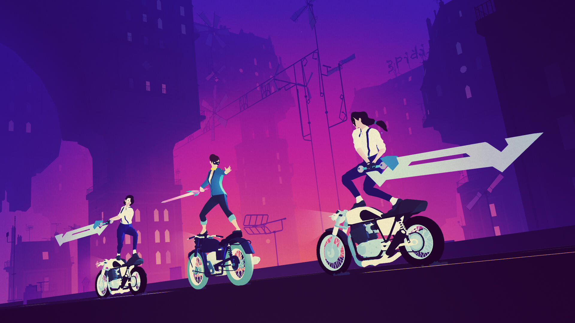 Sayonara Wild Hearts is a Bright, Loud Game That Tells a Sweet, Subtle Story