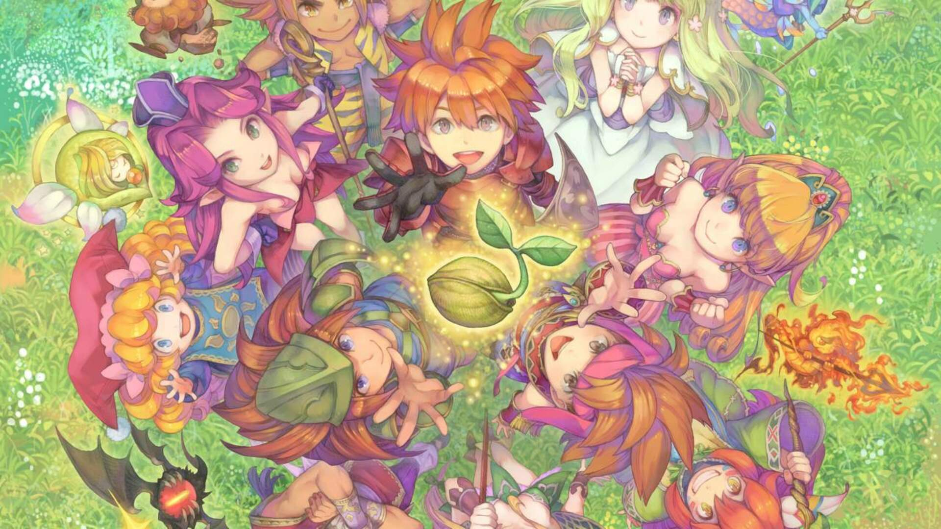 """Collection of Mana"" Resurfaces Through New Square Enix Trademark"