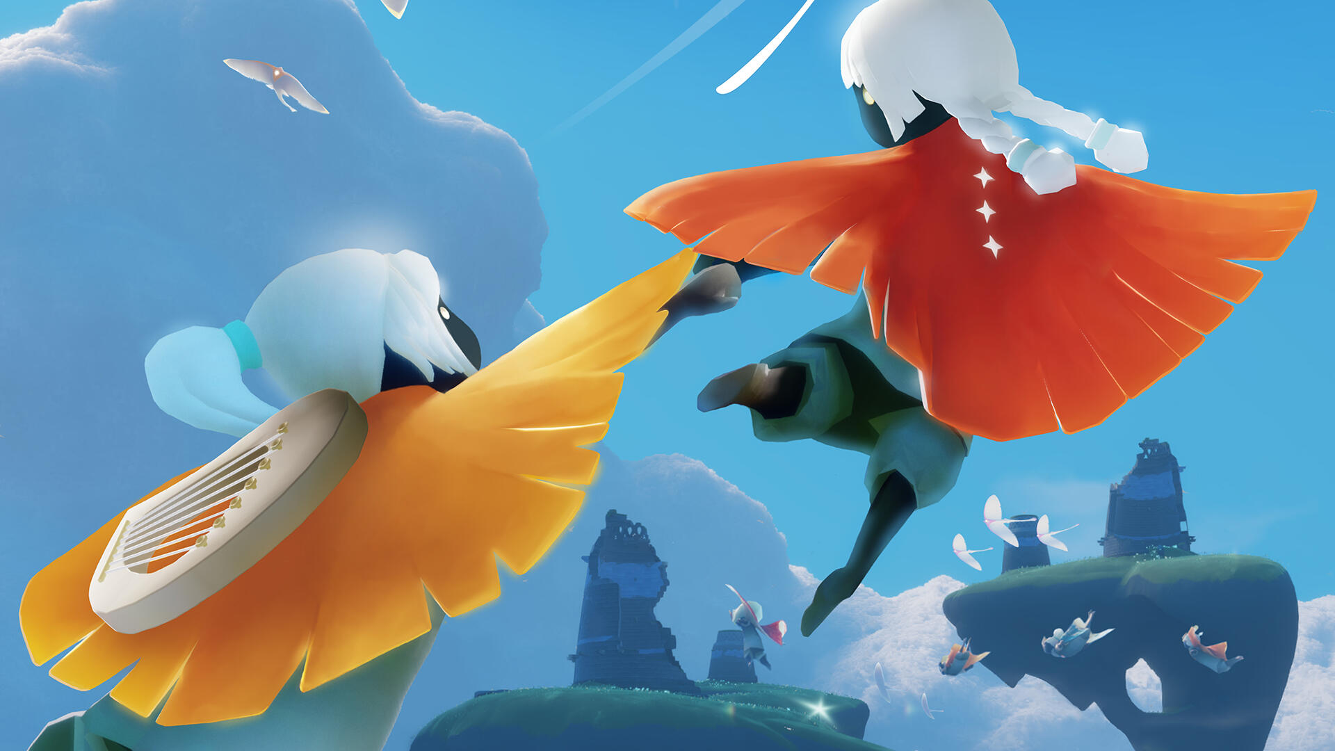Sky: Children of the Light is a New Game From the Creators of Journey Where Everyone Wants to Give You a Hug