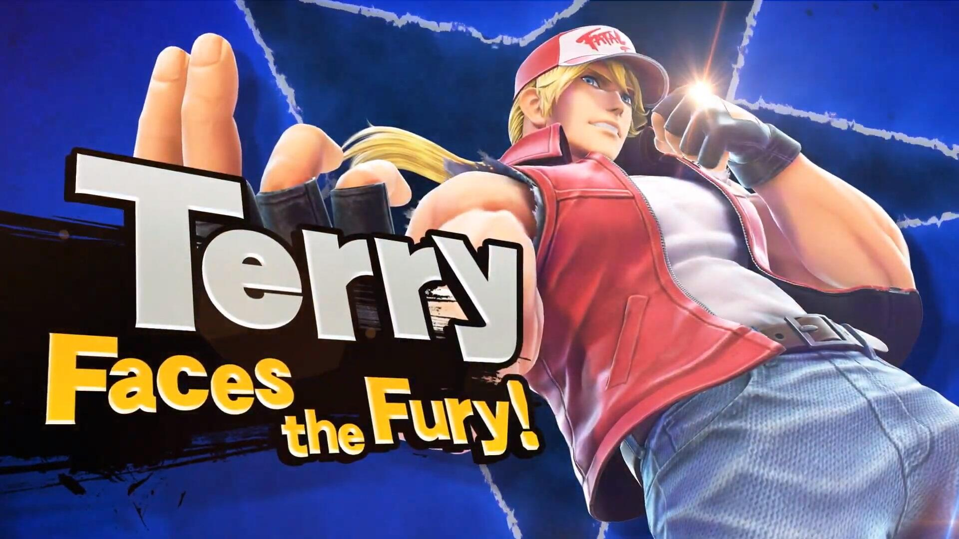 Terry Bogard is the Next Fighter Coming to Super Smash Bros. Ultimate
