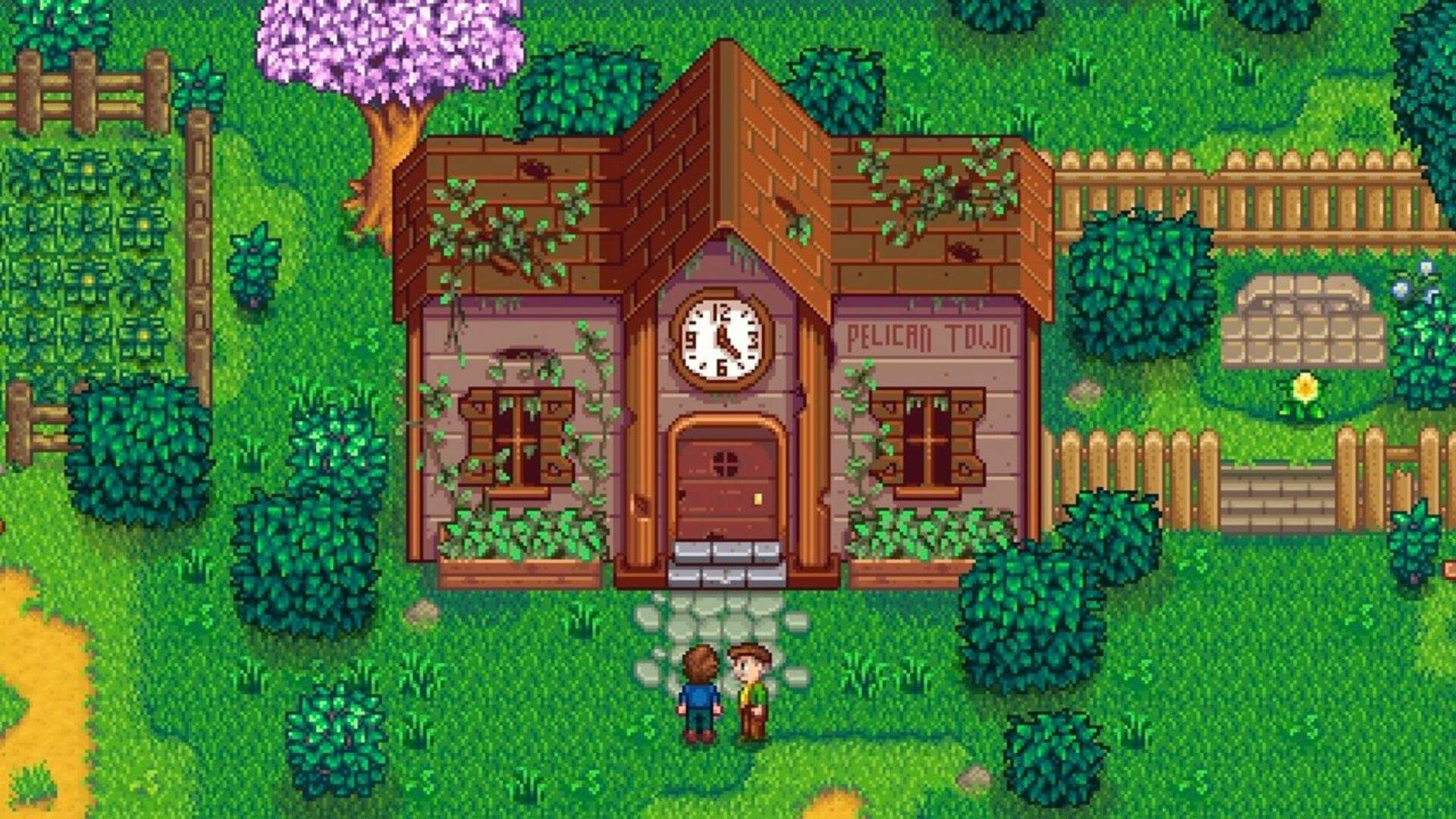 Stardew Valley: How to Get the Greenhouse and Grow Plants in Winter