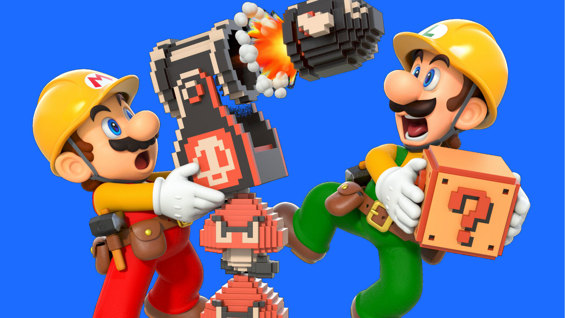 You Have to Unlock the Night Theme in Super Mario Maker 2