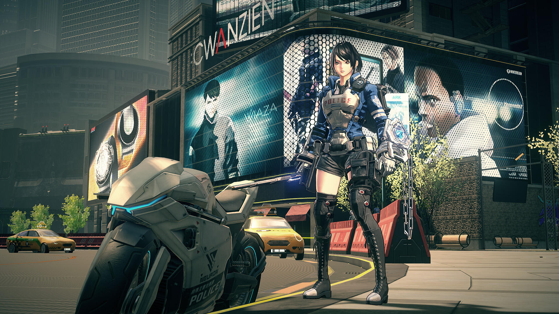 Astral Chain, Platinum's Upcoming Cyberpunk Switch Exclusive, Began as a Fantasy Game
