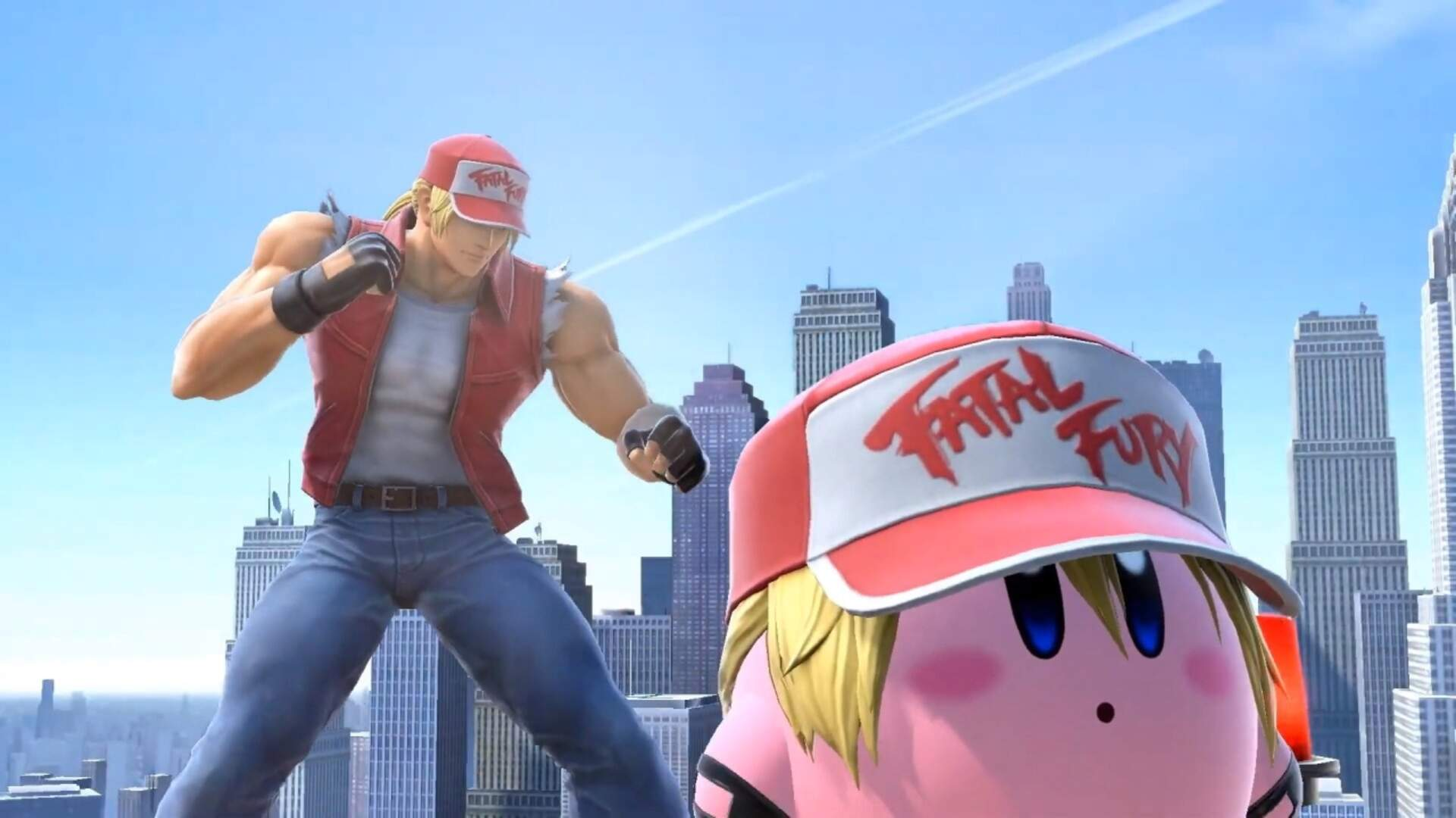 Terry Bogard and Kirby Bogard Arrive in Super Smash Bros. Ultimate Today