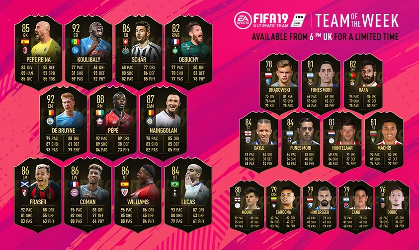 Expo Stands Krzysztof Sobiech : Fifa totw 33 fut team of the week 33 may 1 2019 usgamer