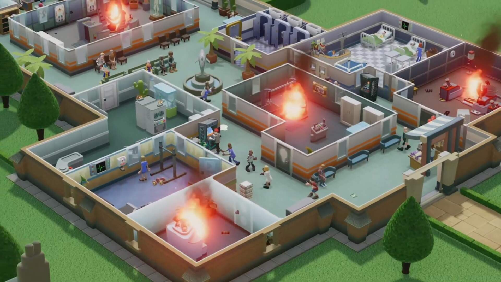 Theme Hospital's Successor Two Point Hospital Is Coming To Consoles Later This Year