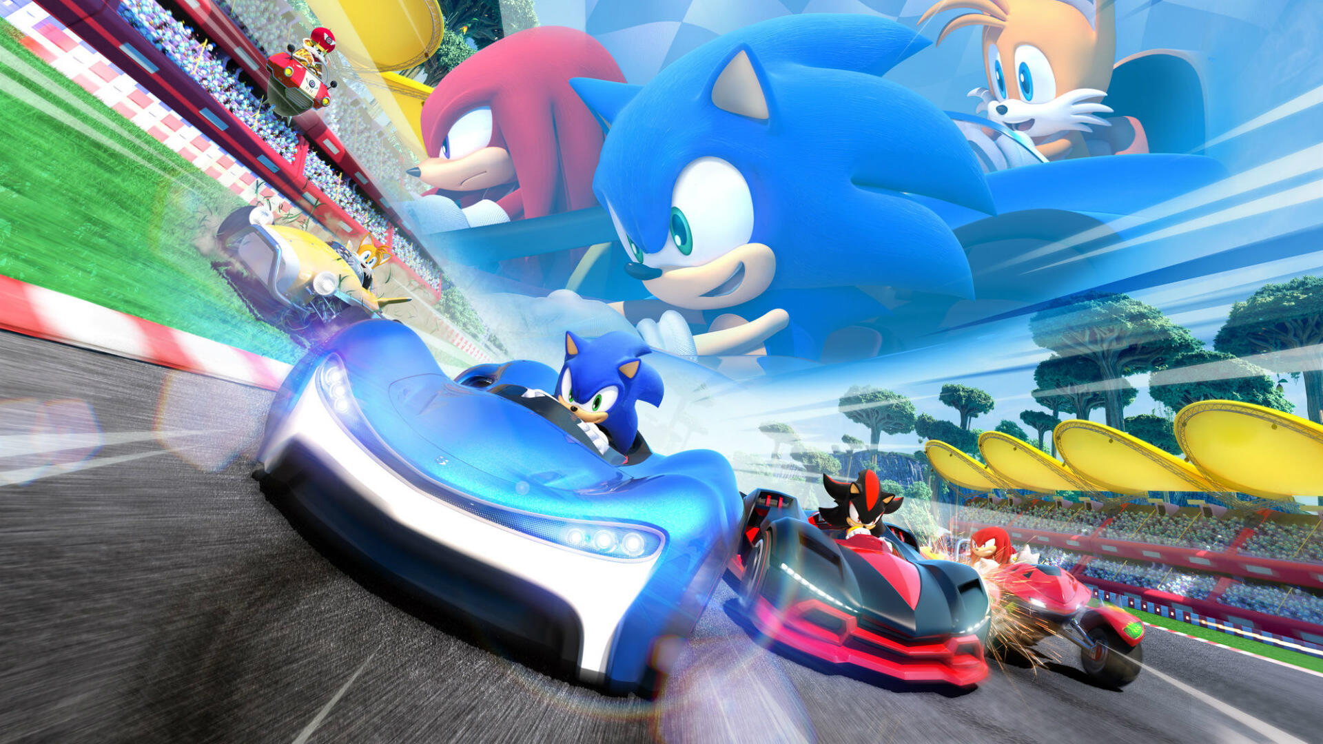 Team Sonic Racing: Is There Splitscreen Multiplayer?
