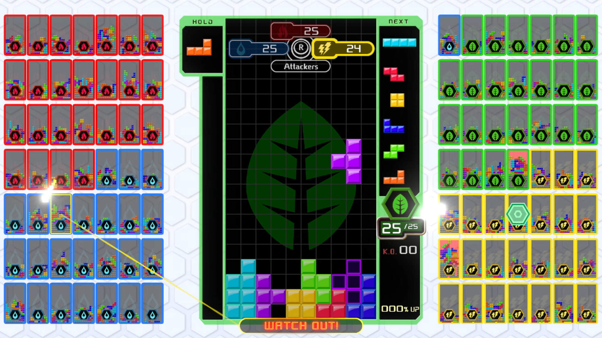 If You're Bad at Tetris 99, You Can Now Squad Up For Help