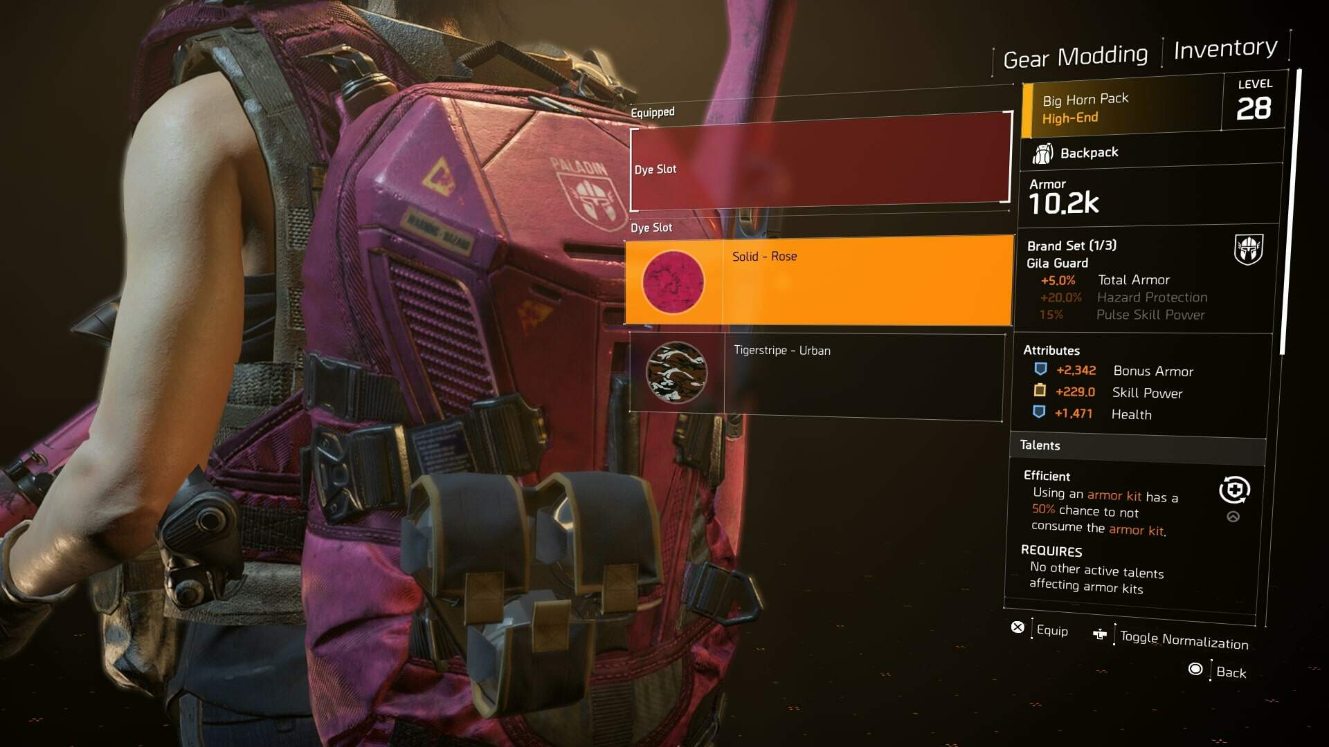 The Division 2 Dyes - How to Unlock New Dyes, Gear Dyes, Division 2 Dye Crate Locations
