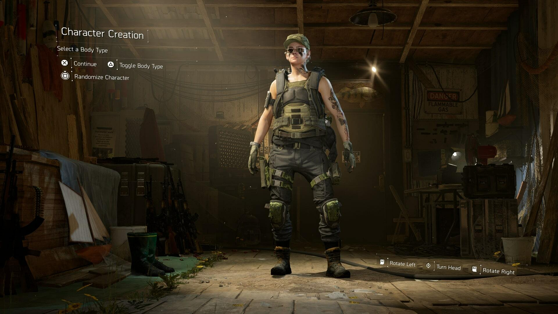 The Division 2 Character Creator - Tattoos, Customization