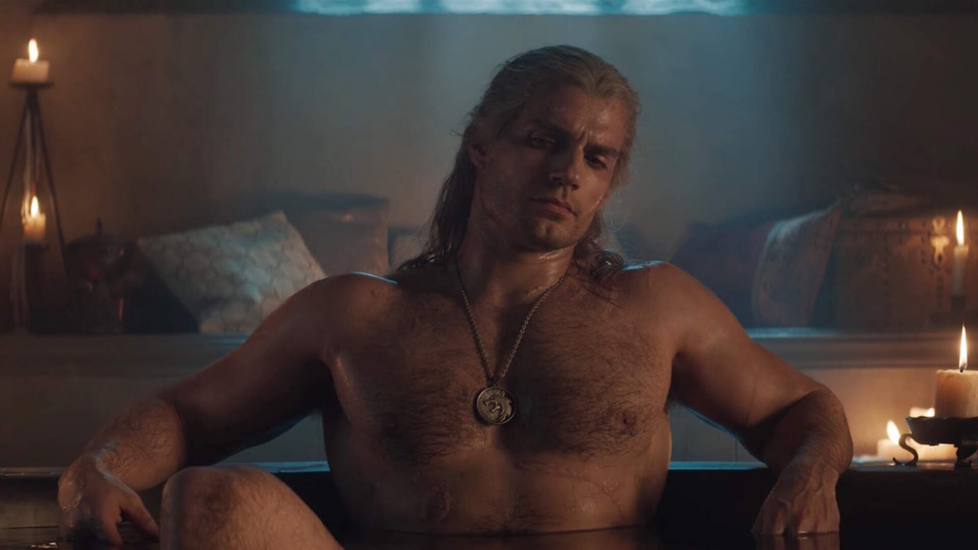 Netflix's New The Witcher Trailer Gives Us What We Really Want: Geralt in a Bathtub