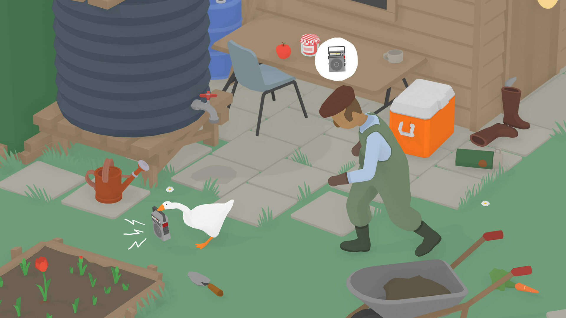 Untitled Goose Game Uses About 400 Different Tracks to Adapt to Your Goose Antics