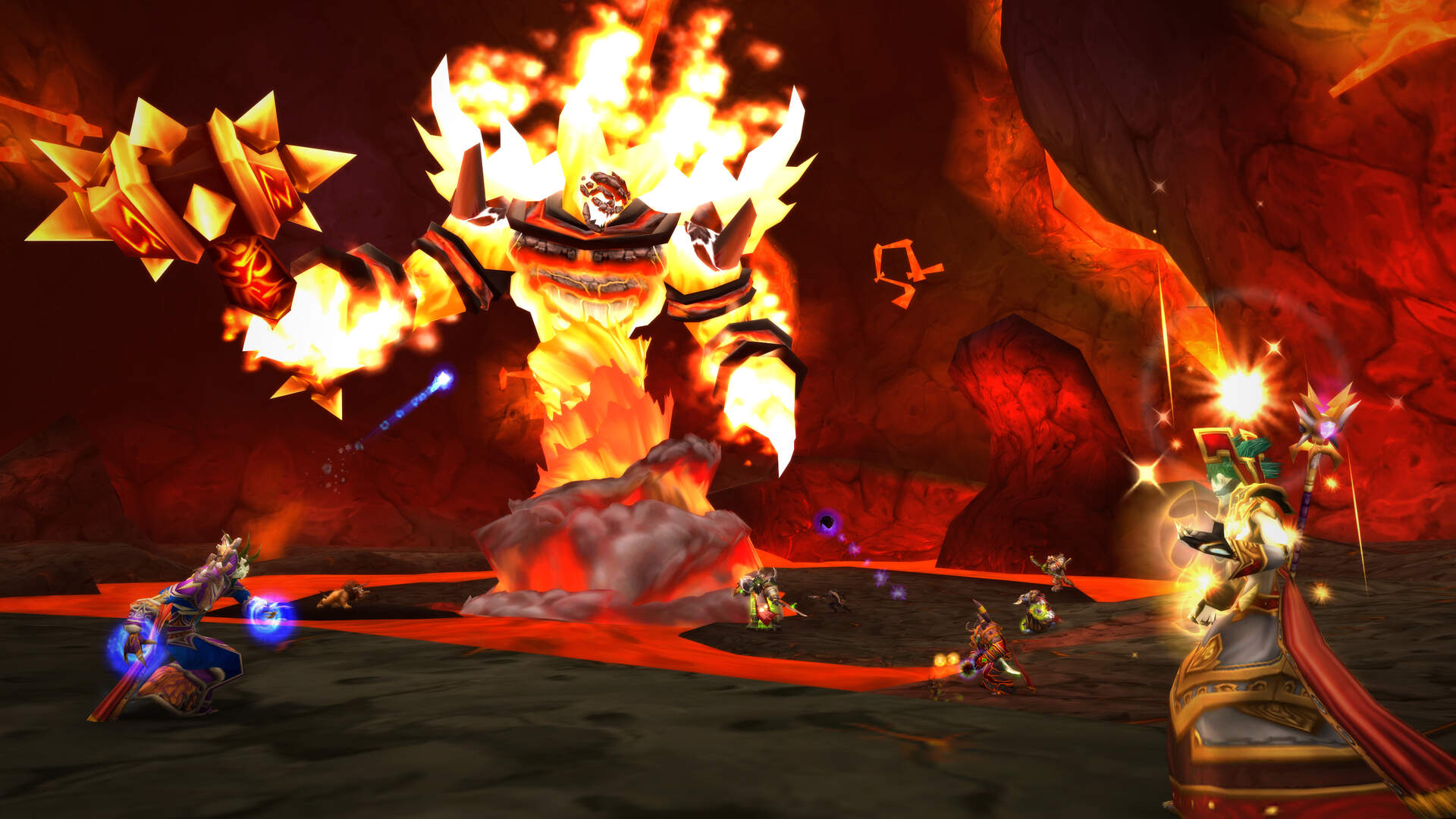 Here's How World of Warcraft Classic Will Simulate the Release of Original Raids Like Molten Core