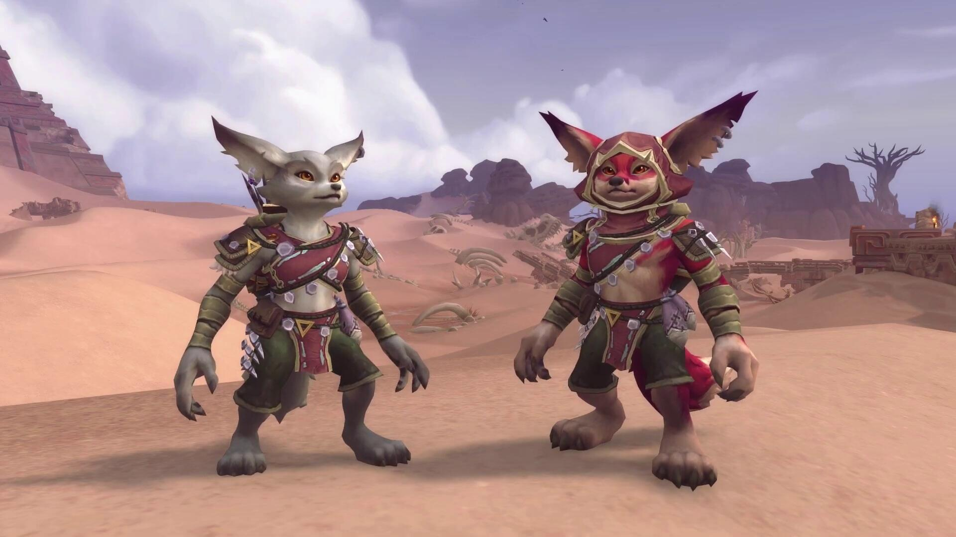 Furries Rejoice: WoW Battle for Azeroth Enlisting Vulpera for Its Next Patch