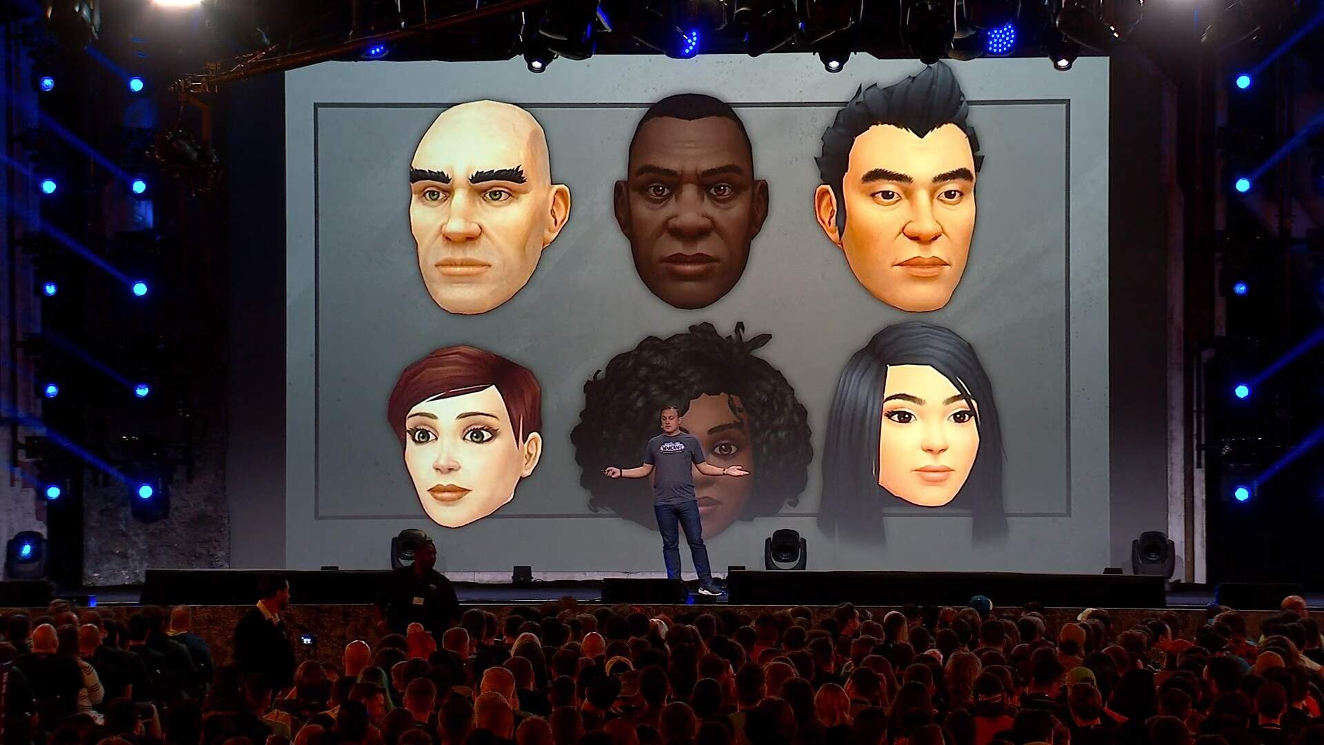 WoW Shadowlands Finally Adds Black and Asian Facial Options for Human Characters
